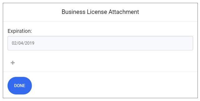 business license upload