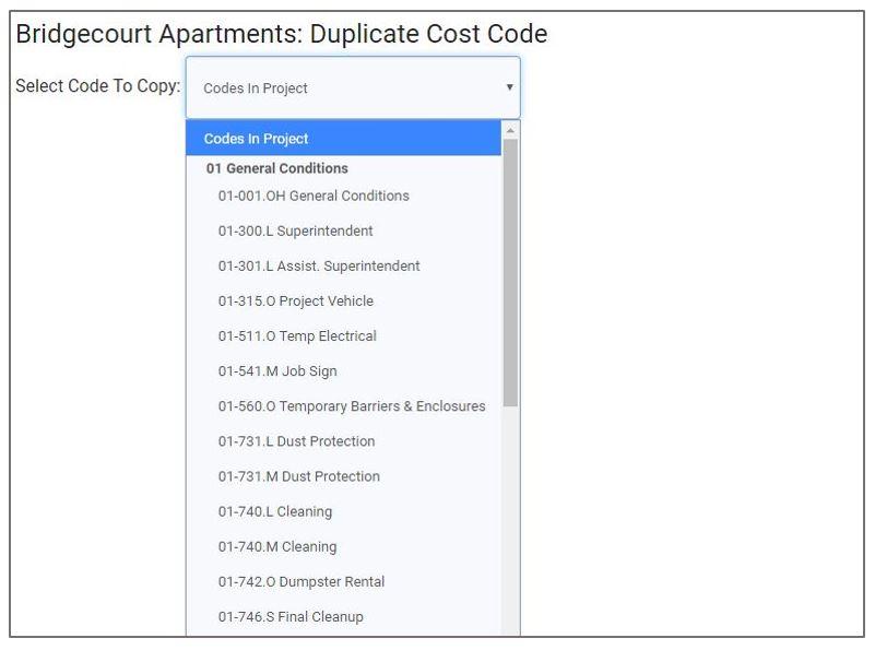 select item to duplicate