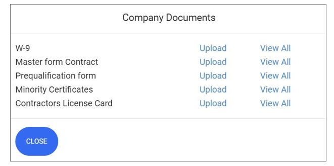 sub vendor Company Documents