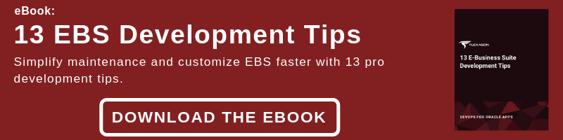 DevOps for Oracle Apps: 10 E-Business Suite Development Tips