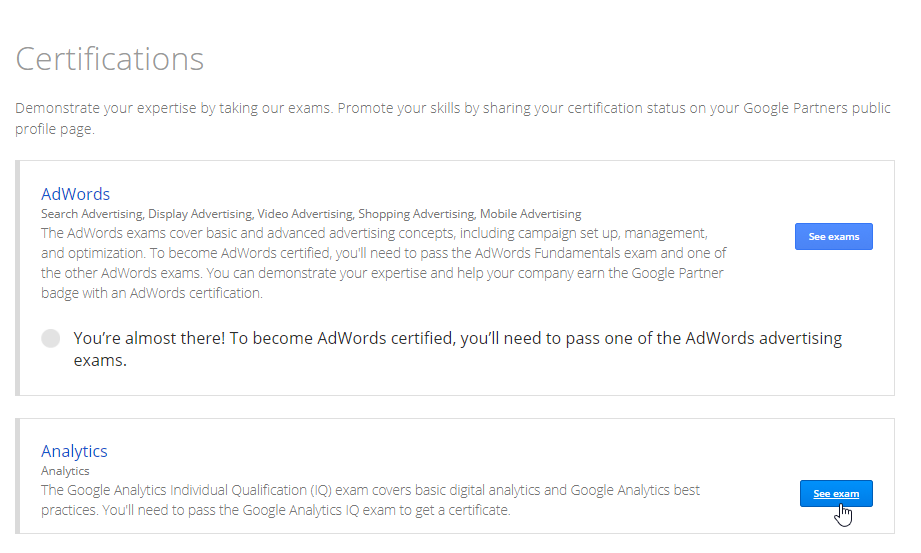 Are You Ready For Google Analytics Certification