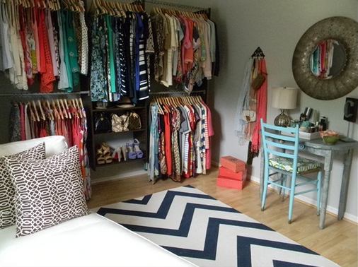 This Amazing Dressing Room Is By Far My Personal Favorite And Was Compiled Using A Martha Living Closet Kit Which You Can Purchase For 160 At Home