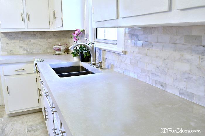 Diy Concrete Counters Stockton Mortgage