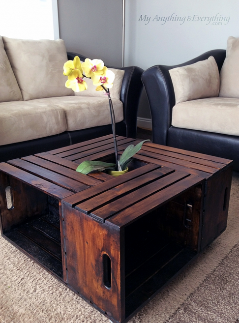 Diy Crate Coffee Table Stockton Mortgage