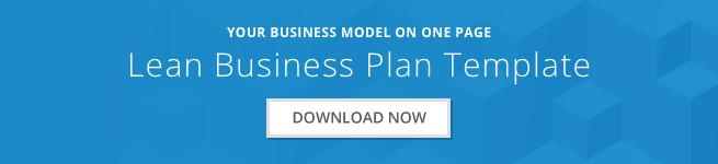 lean business plan template