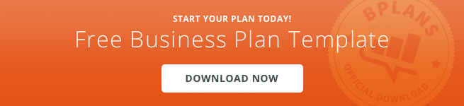 A Standard Business Plan Outline Updated For Bplans - Standard business plan template