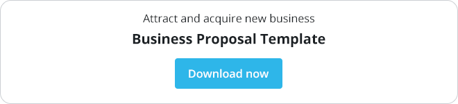 template for a business proposal