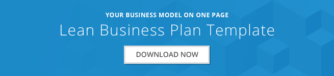 How to write a one page business plan bplans the lean business plan template wajeb Images