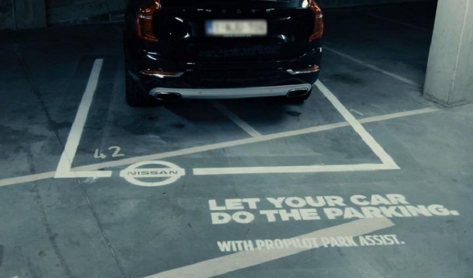 Nissan dumb parking 5
