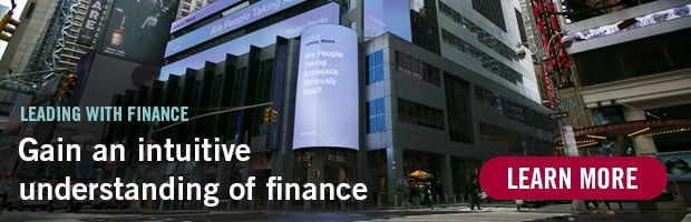 Leading with Finance - Gain an intuitive understanding of finance. Learn more.