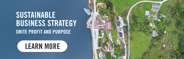 Sustainable Business Strategy - Unite profit and purpose. Learn more.
