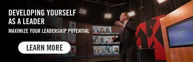 Developing Yourself as a Leader - Maximize Your Leadership Potential. Learn More.