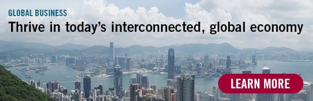 Global Business - Thrive in today's interconnected, global economy. Learn more.