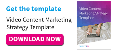 Content Marketing Strategy Template | How To Create A Video Content Marketing Strategy Free Template