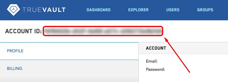 Account ID Location