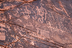 The History of Petroglyphs at the Valley of Fire