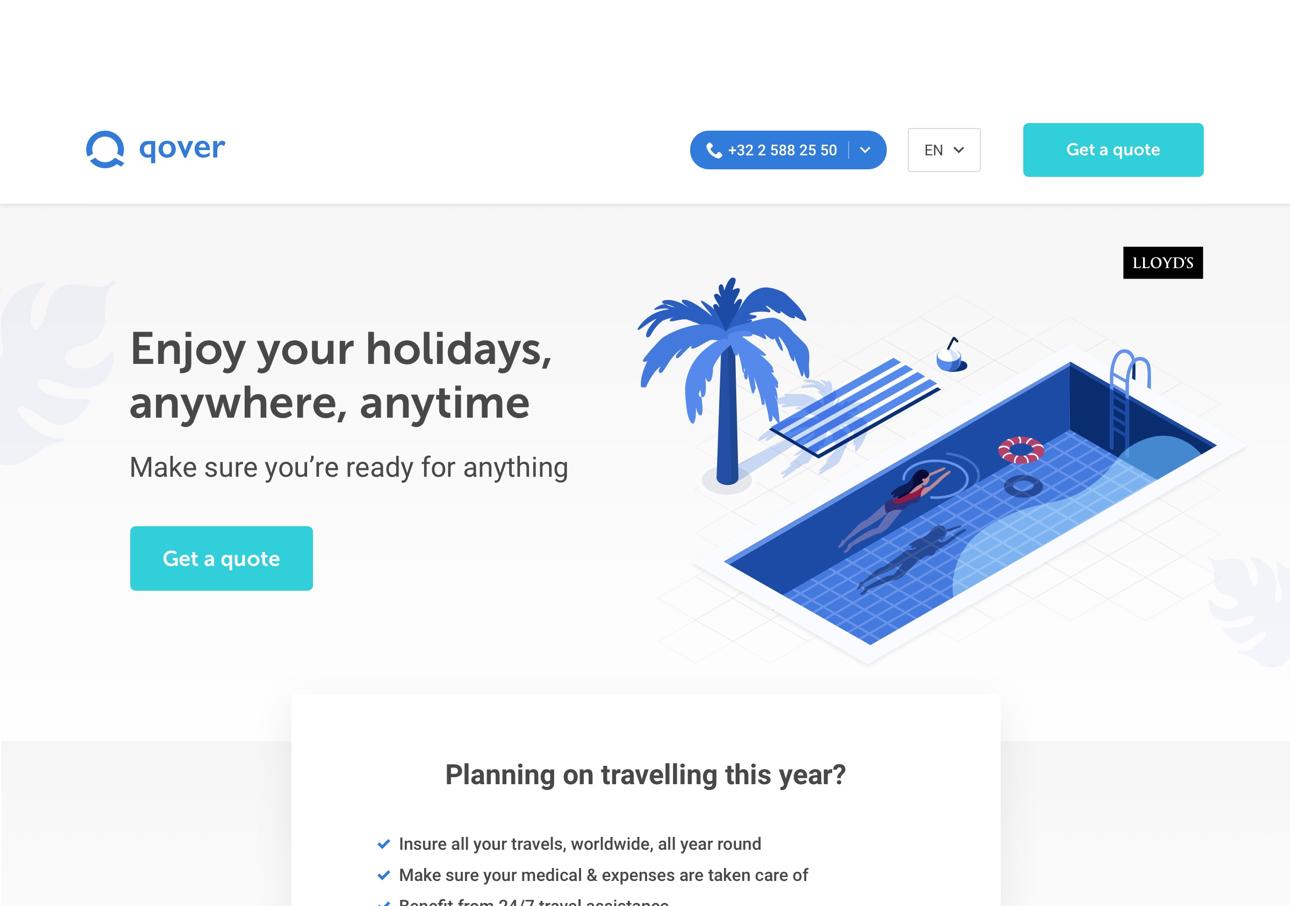 Digital white label travel insurance