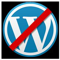 Wordpress Sucks Logo