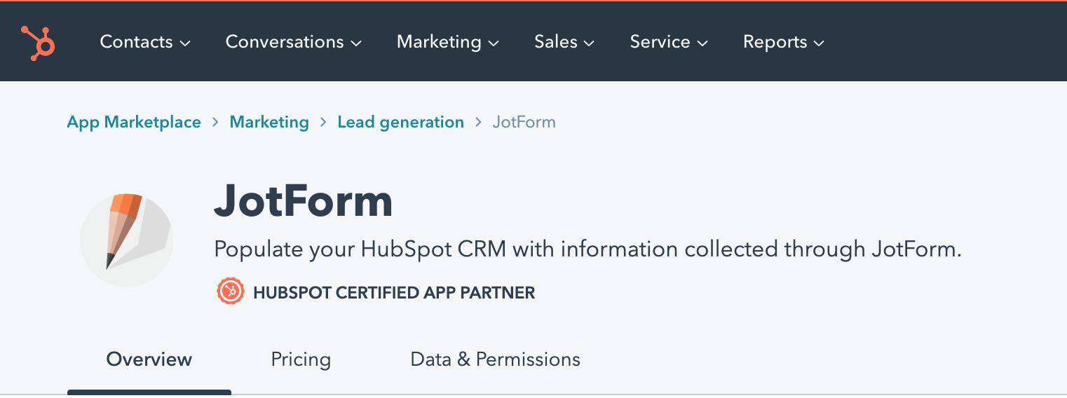 Hubspot certified partner screenshot