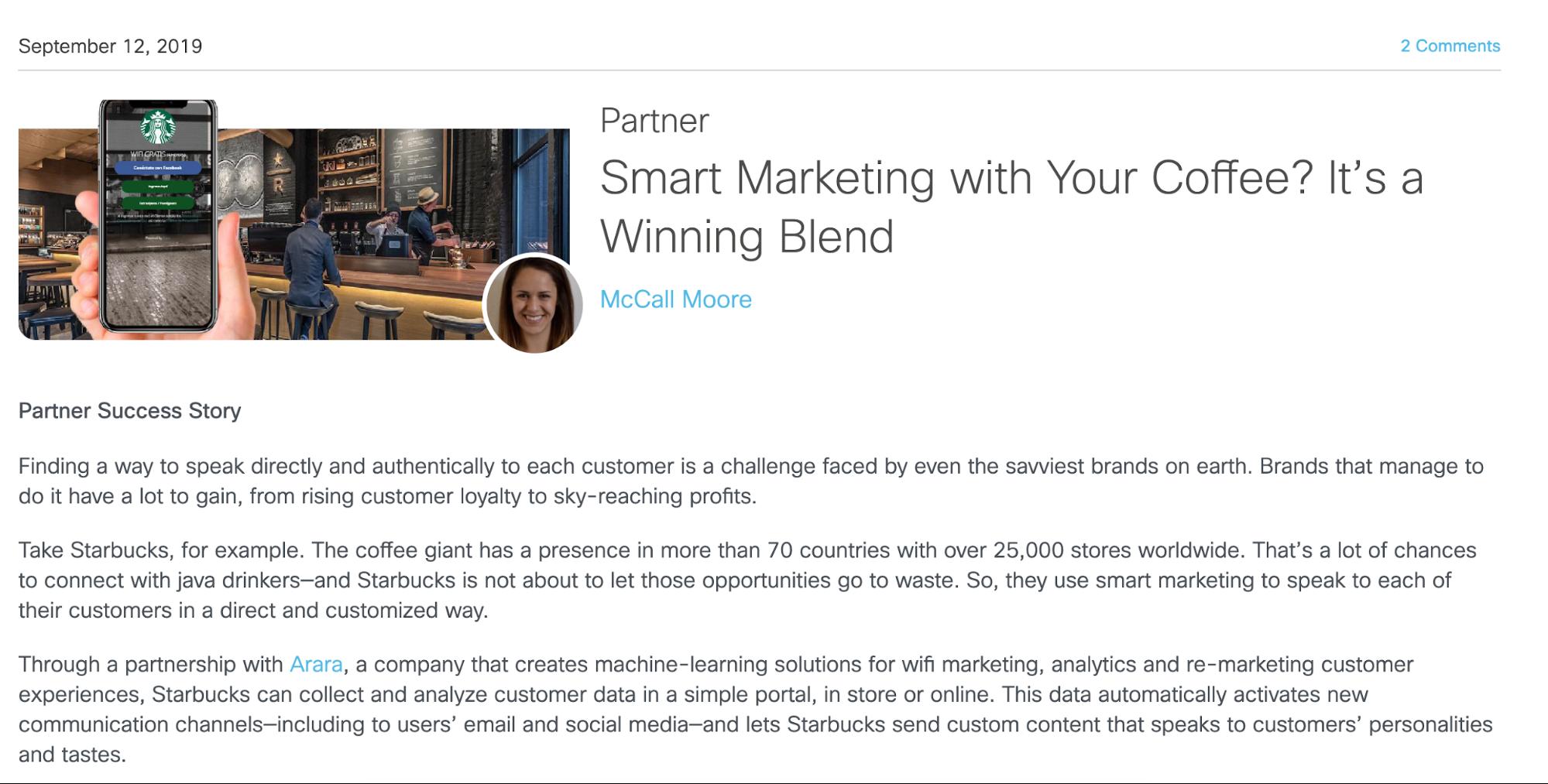 co-marketing case study
