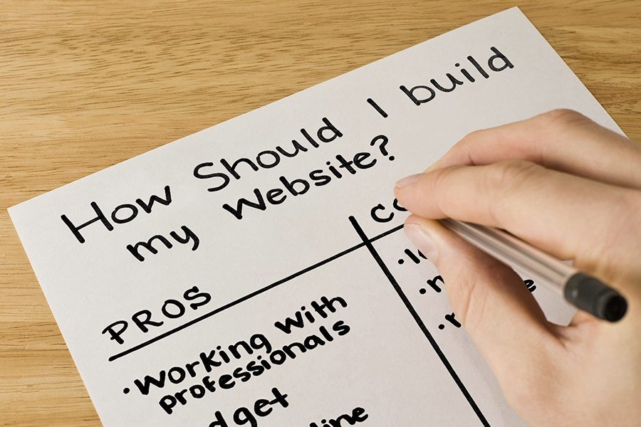 The Pros and Cons of Building a Website
