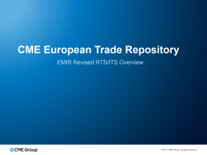 Slideshow about CME European Trade Repository