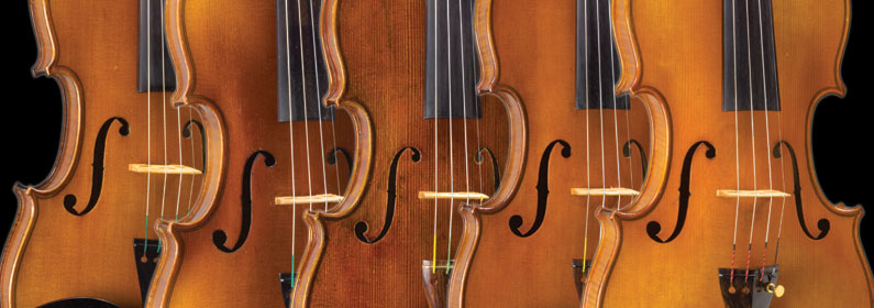 Investment Grade Violins at SHAR USA and China
