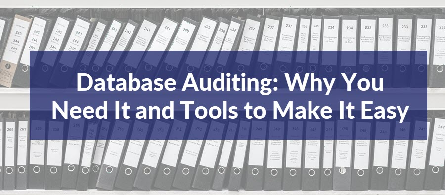 Database Audits: Why You Need Them and What Tools to Use