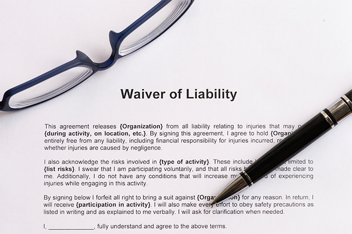 Should I Sign A Liability Waiver – Sample Waiver of Liability