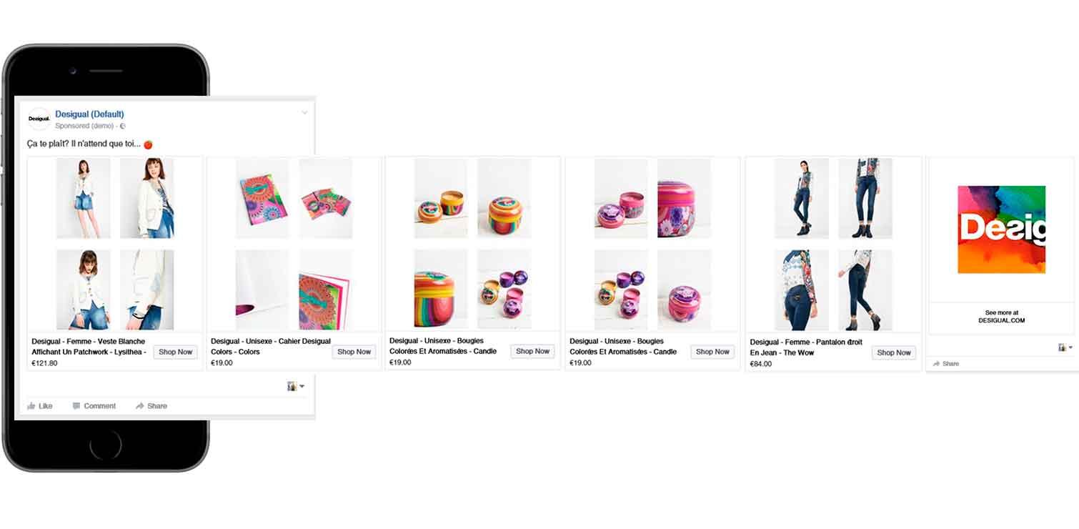 Online kaufen Turnschuhe für billige Gutscheincodes Desigual and its innovative secret with Dynamic ads