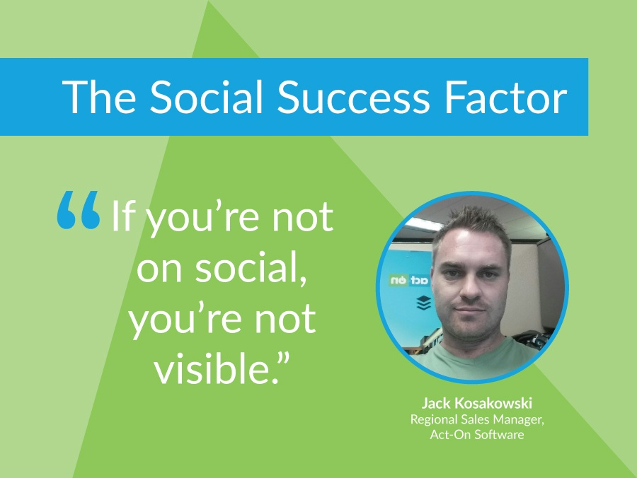 How One Sales Pro Creates 30% of His Revenue From Social