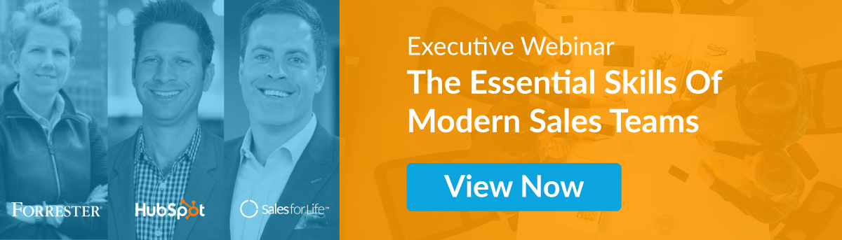 Executive Webinar: The Essential Skills of Modern Sales Teams