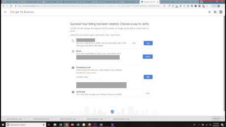 Verify Screen