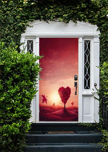 valentine door decorations