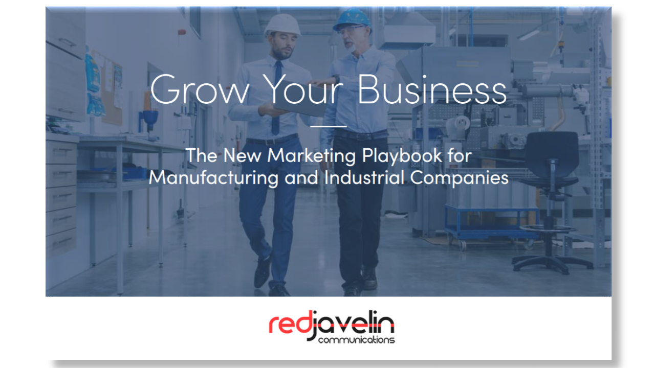 New Marketing Playbook for Manufacturers