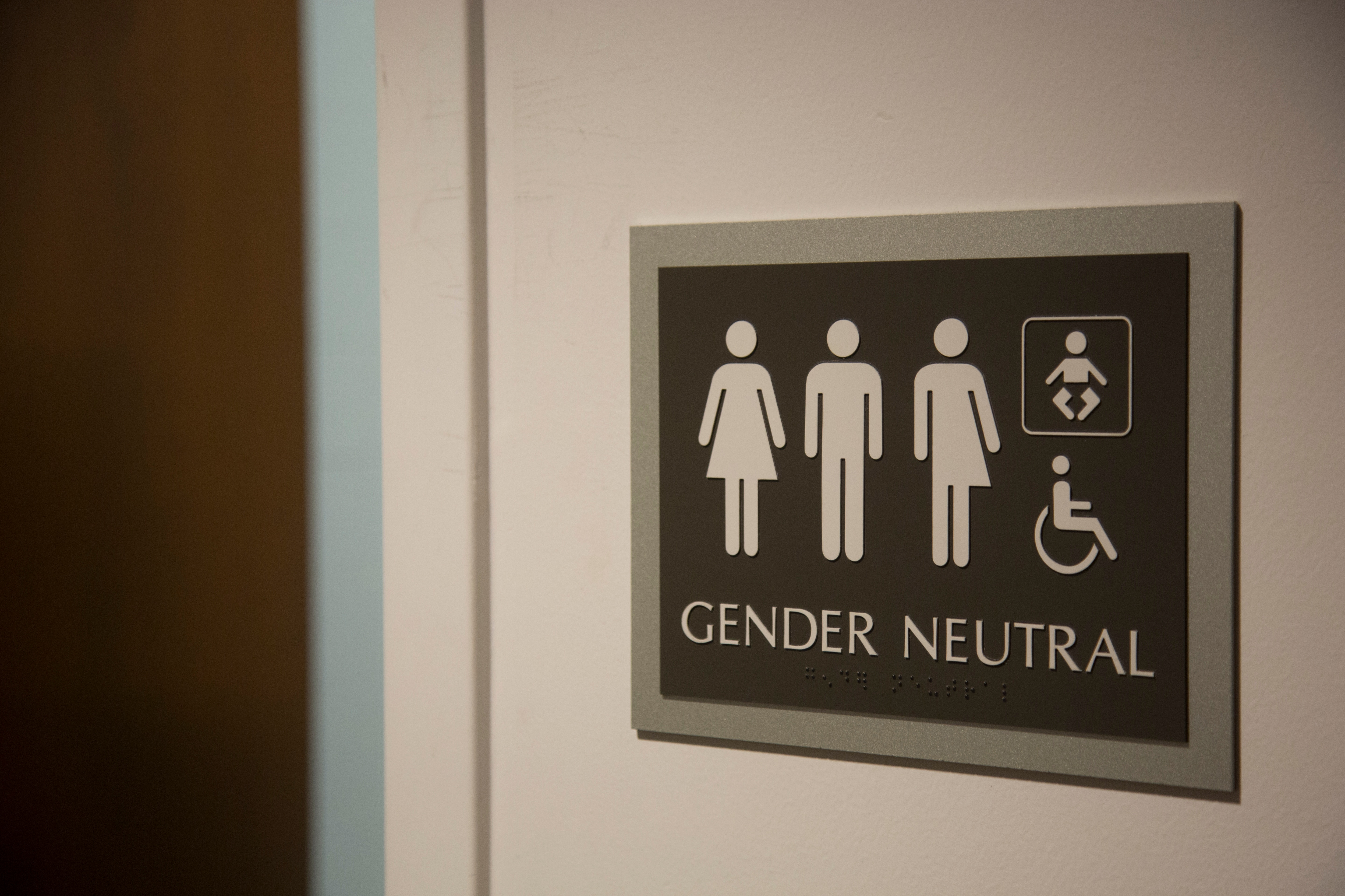 gender neutral bathrooms code conflicts