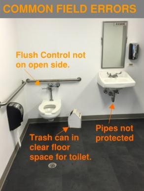 Commonly Overlooked ADA Bathroom Requirements