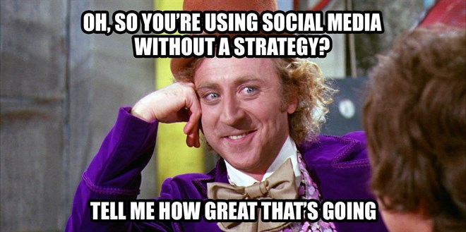 Social Media Strategy Meme