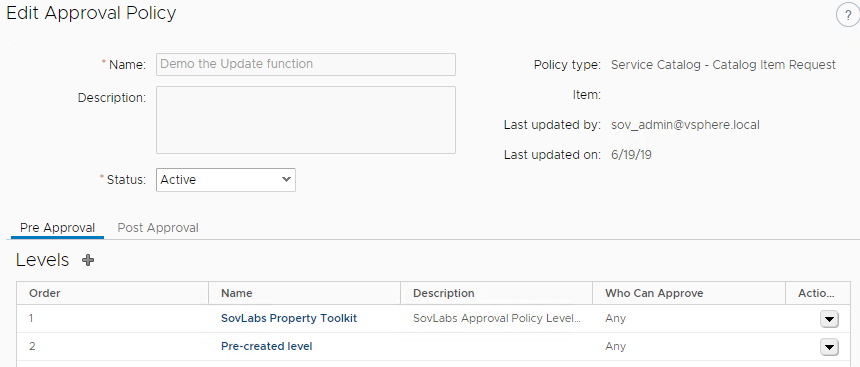 Automate Renaming Your vRA deployments 5