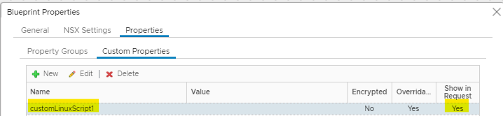 How to Create a Custom Script Input Field in vRealize Automation 18