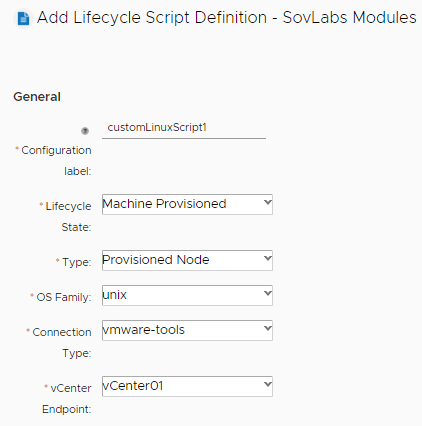 How to Create a Custom Script Input Field in vRealize Automation 6