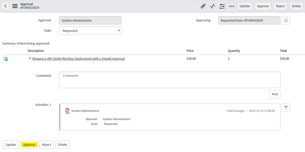 Use the SovLabs Connector with Custom ServiceNow Workflows 15