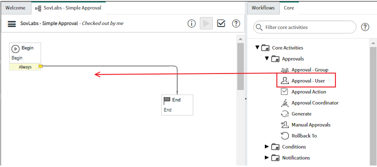 Use the SovLabs Connector with Custom ServiceNow Workflows 4