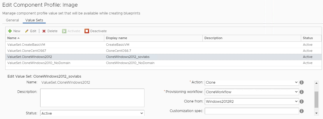 Using Dynamic Elements with vRealize Automation Component Profiles 4
