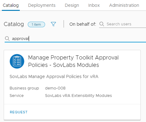 vRealize Automation Dynamic Resource Placement with the SovLabs Property Toolkit 16