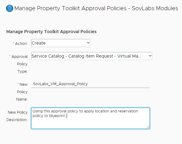 vRealize Automation Dynamic Resource Placement with the SovLabs Property Toolkit 17