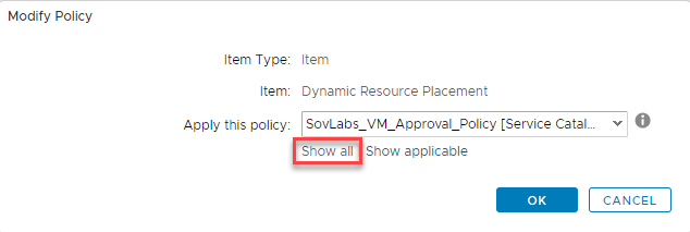 vRealize Automation Dynamic Resource Placement with the SovLabs Property Toolkit 18