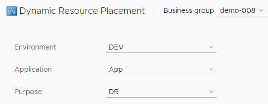 vRealize Automation Dynamic Resource Placement with the SovLabs Property Toolkit 20