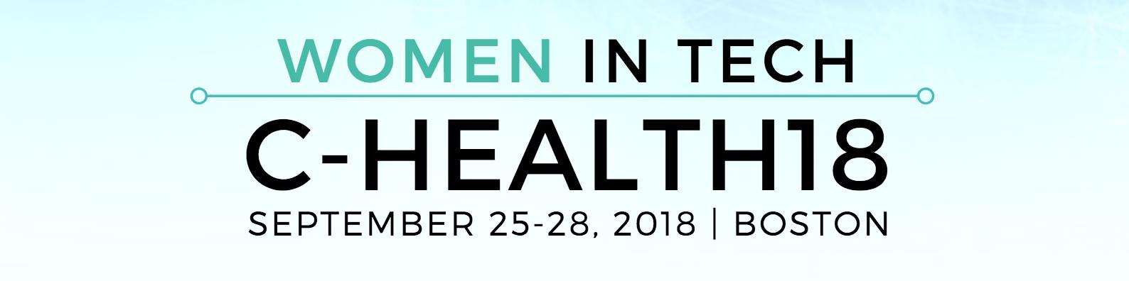 Women in Tech at C-Health18