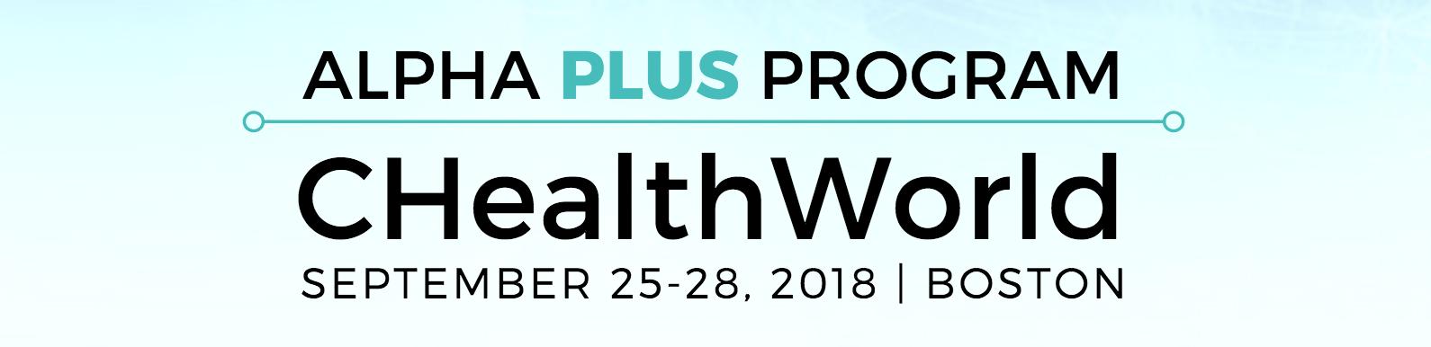 Alpha Plus Program at CHealthWorld